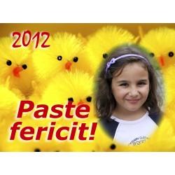Felicitari de Paste personalizate FP001