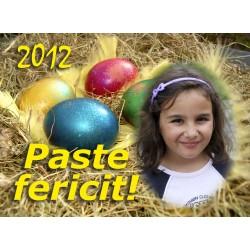 Felicitari de Paste personalizate FP002