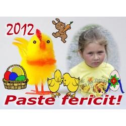 Felicitari de Paste personalizate FP004