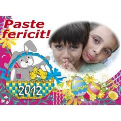 Felicitari de Paste personalizate FP007