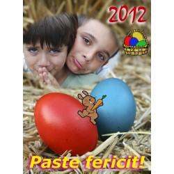 Felicitari de Paste personalizate FP008