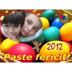 Felicitari de Paste personalizate FP009