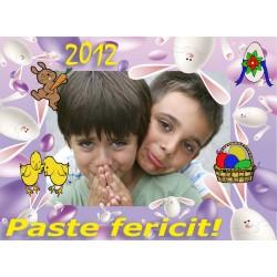Felicitari de Paste personalizate FP010