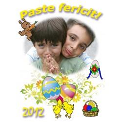 Felicitari de Paste personalizate FP012
