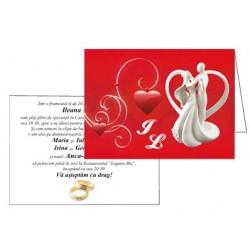 Invitatii de nunta personalizate INVN024