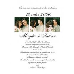 Invitatii de nunta personalizate INVN032