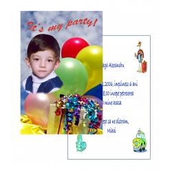 Invitatii personalizate INVP001