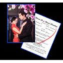 Invitatii de nunta personalizate INVN033