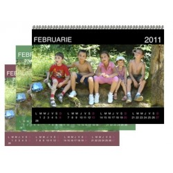 Calendar personalizat de perete CALP011